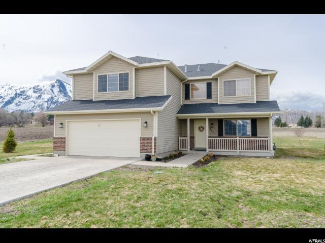 857 N 100 W, Mendon, UT 84325 (#1590501) :: Big Key Real Estate