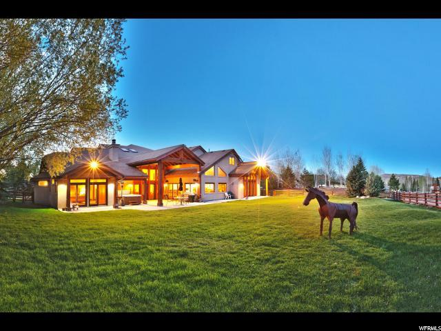 2440 Holiday Ranch Loop, Park City, UT 84060 (#1590756) :: goBE Realty