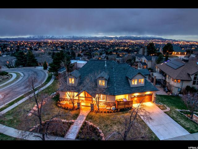 8482 S Daneborg Cir, Cottonwood Heights, UT 84121 (#1590821) :: The Canovo Group