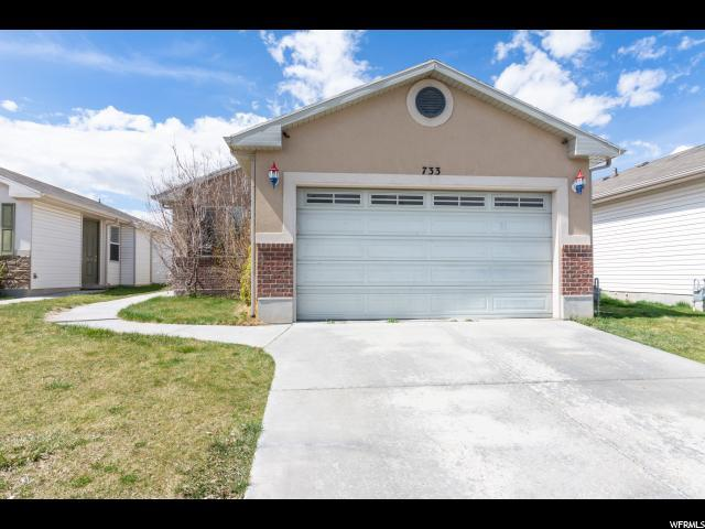 733 N Fox Hollow Dr W, North Salt Lake, UT 84054 (#1591381) :: Big Key Real Estate