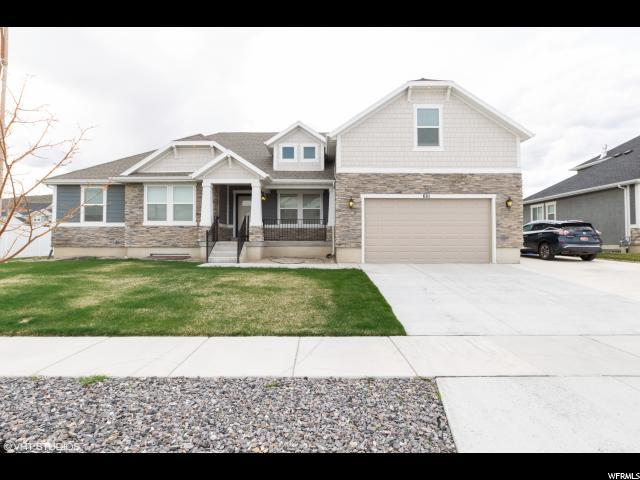 661 N Echo Way W, Saratoga Springs, UT 84045 (#1591426) :: Bustos Real Estate | Keller Williams Utah Realtors