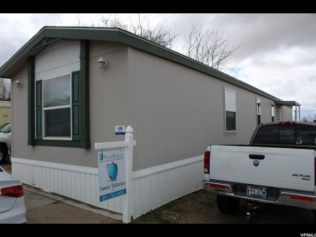 1231 W 400 N #59, Clearfield, UT 84015 (#1591668) :: Action Team Realty