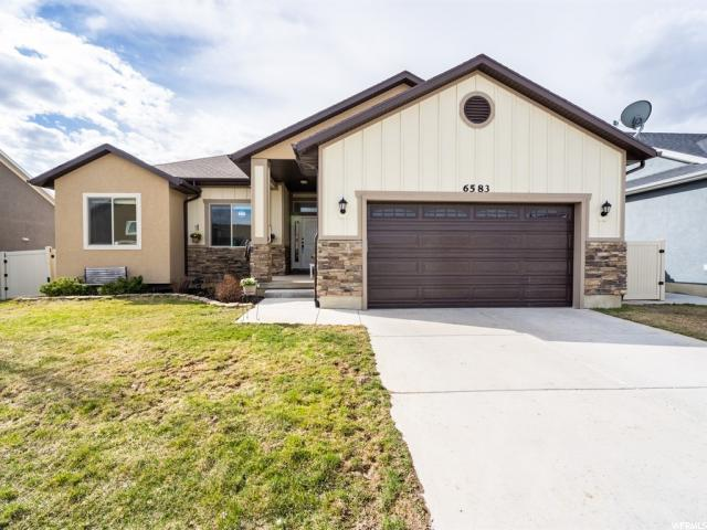 6583 S Evening Glow Ct W, West Valley City, UT 84081 (#1591938) :: Bustos Real Estate | Keller Williams Utah Realtors
