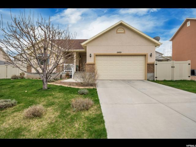 5489 W Greystock Cir N, West Valley City, UT 84120 (#1592434) :: Action Team Realty