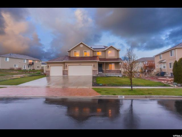 3367 S Peregrine Trl, Saratoga Springs, UT 84045 (#1592552) :: Bustos Real Estate | Keller Williams Utah Realtors