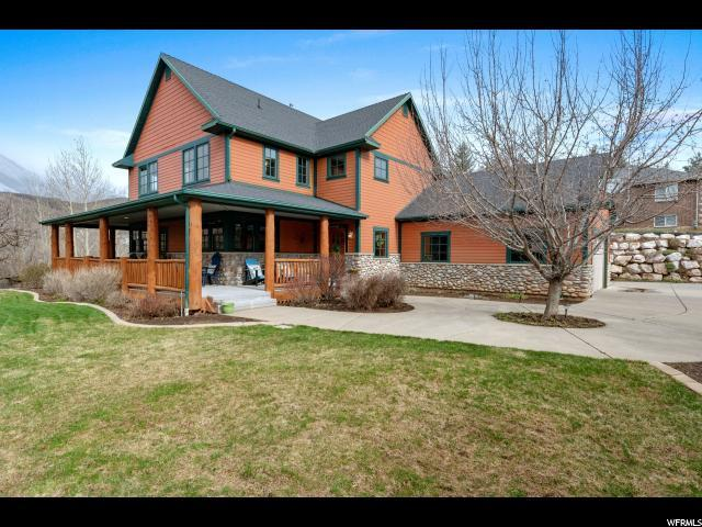 5746 Wasatch Dr, Morgan, UT 84050 (#1593112) :: The Canovo Group