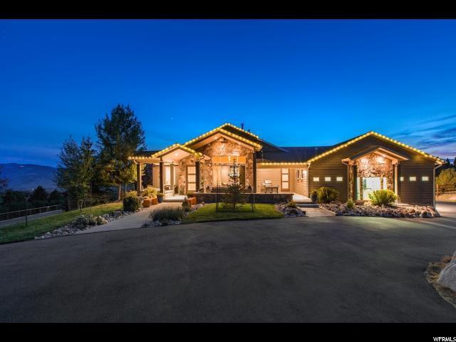 985 Cherry Hills Dr, Wanship, UT 84017 (MLS #1593486) :: High Country Properties