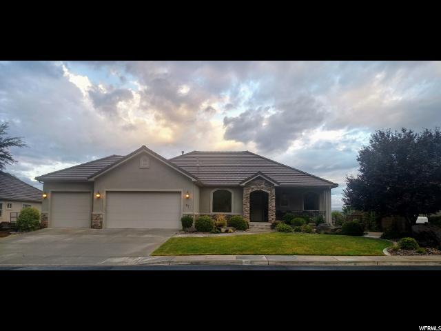 87 Shadow Point Dr, St. George, UT 84770 (#1594173) :: goBE Realty