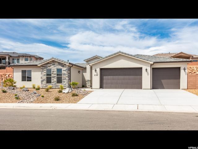 838 W Sunset Mesa Dr, Washington, UT 84780 (#1594196) :: Bustos Real Estate | Keller Williams Utah Realtors