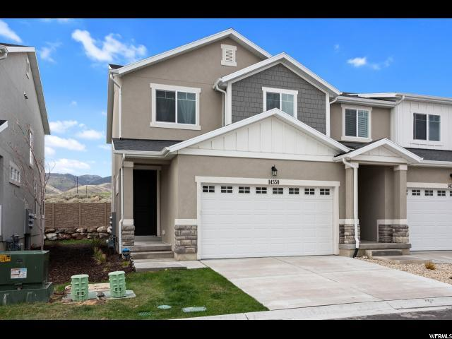 14550 S South Quiet Shade Dr W, Herriman, UT 84096 (#1594437) :: Colemere Realty Associates