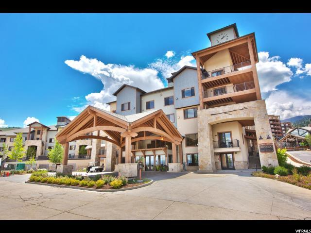 2669 S Canyons Resort Dr E #101, Park City, UT 84098 (MLS #1594458) :: High Country Properties