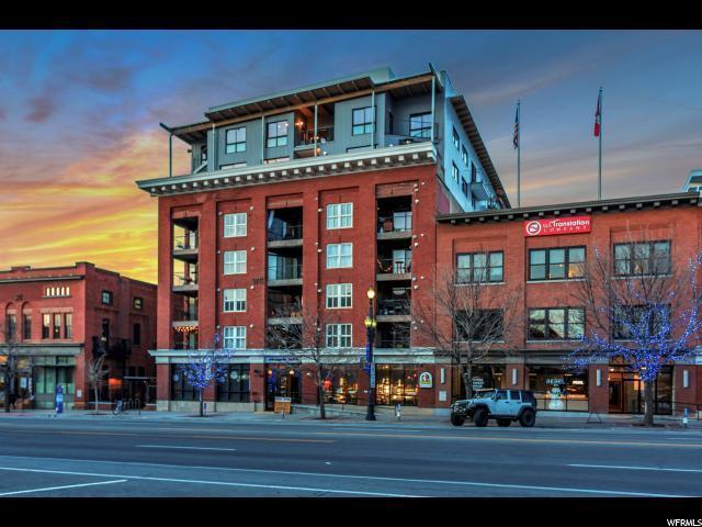 328 W 200 S #601, Salt Lake City, UT 84101 (#1594482) :: Colemere Realty Associates