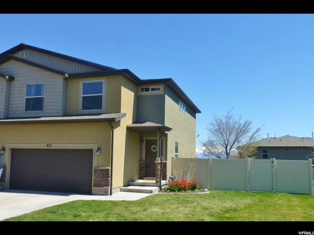 617 W Goldenrod Way N, Saratoga Springs, UT 84045 (#1594489) :: The Canovo Group