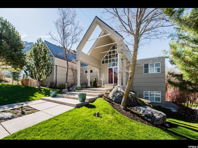 1718 E Mountain Rd N, Logan, UT 84321 (#1594511) :: The Utah Homes Team with iPro Realty Network