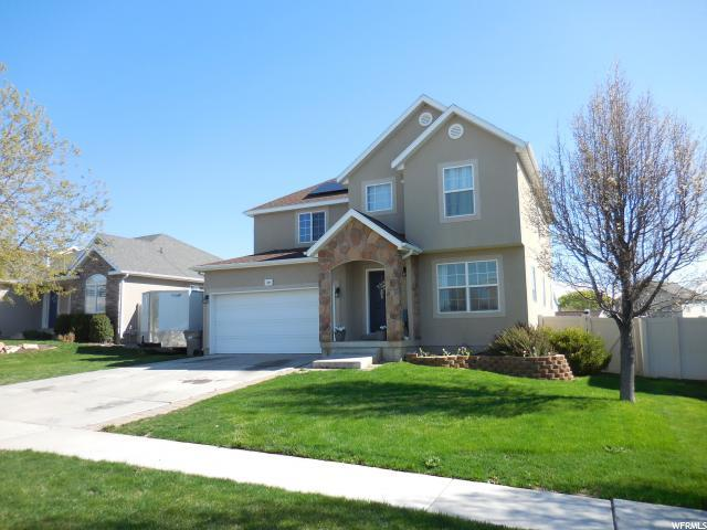 404 W Cinnamon Cir, Saratoga Springs, UT 84045 (#1594570) :: The Canovo Group