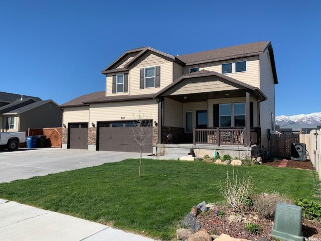 216 S Ranch Rd E, Grantsville, UT 84029 (#1594938) :: Big Key Real Estate