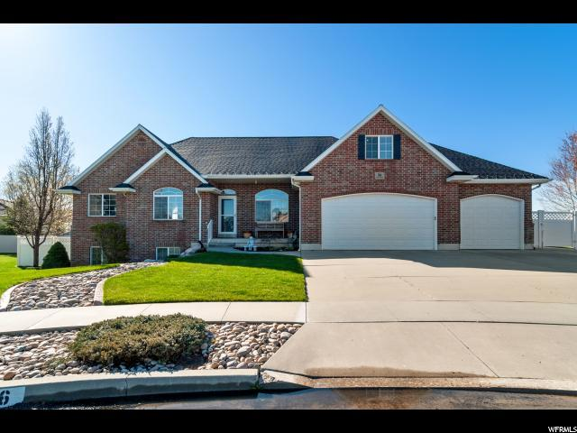 56 N Pine Creek Rd W, West Point, UT 84015 (#1595081) :: The Muve Group