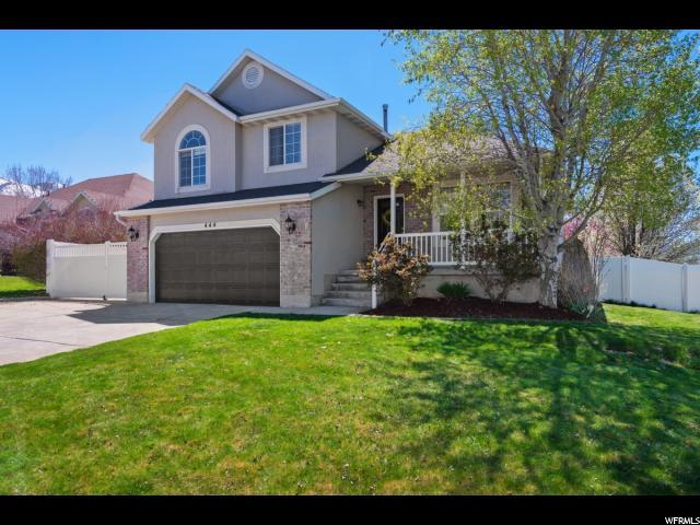 444 E Wilde Cherry Way S, Sandy, UT 84070 (#1595084) :: The Muve Group