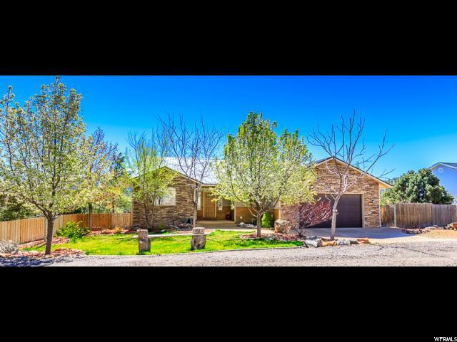 64 N N Sundance Kid Trl, Central, UT 84722 (MLS #1595166) :: Lookout Real Estate Group