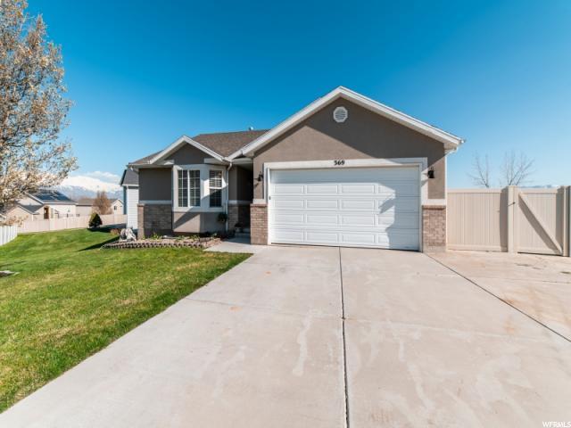 369 W Harvest Moon Dr, Saratoga Springs, UT 84045 (#1595207) :: Bustos Real Estate | Keller Williams Utah Realtors