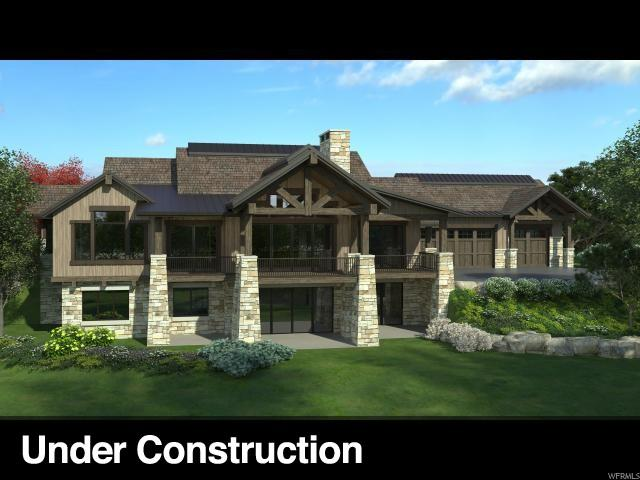 1285 N Oquirrh Mountain Dr (Lot 76), Heber City, UT 84032 (#1595321) :: The Canovo Group