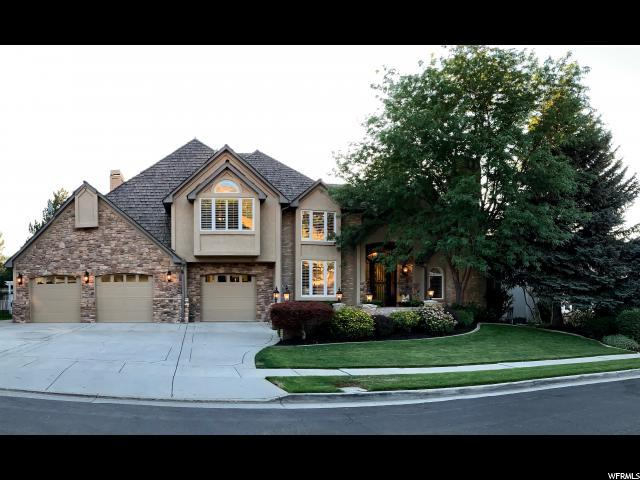 8772 S Willow Green Dr E, Sandy, UT 84093 (#1595411) :: Exit Realty Success