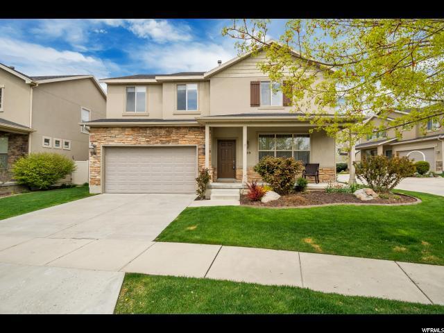839 E Whisper Cv S, Sandy, UT 84094 (#1595598) :: Bustos Real Estate | Keller Williams Utah Realtors