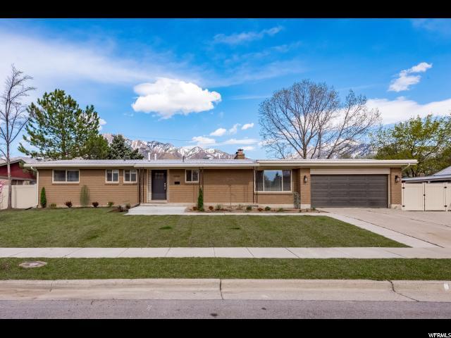 6055 S Fontaine Bleu Dr, Murray, UT 84121 (#1595771) :: Bustos Real Estate   Keller Williams Utah Realtors