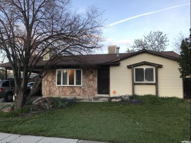 6439 S Begonia Dr W, West Jordan, UT 84081 (#1595968) :: Bustos Real Estate | Keller Williams Utah Realtors