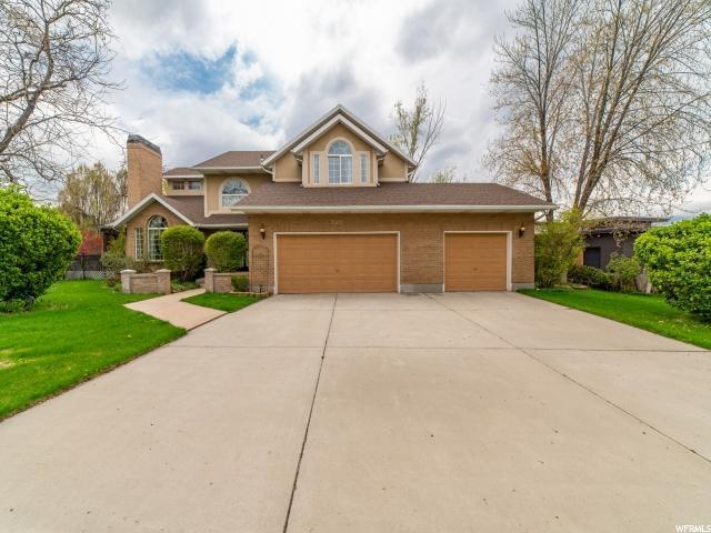 5792 S Ridge Creek Cir E, Murray, UT 84107 (#1596024) :: Bustos Real Estate   Keller Williams Utah Realtors