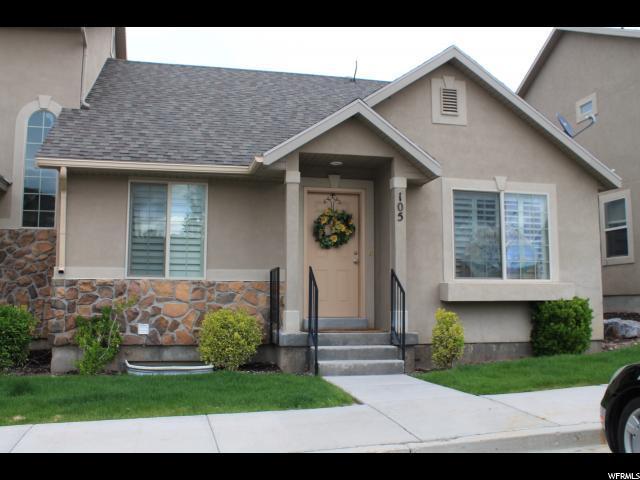 224 W Crescent View Ln N #105, Tooele, UT 84074 (#1596229) :: Bustos Real Estate   Keller Williams Utah Realtors