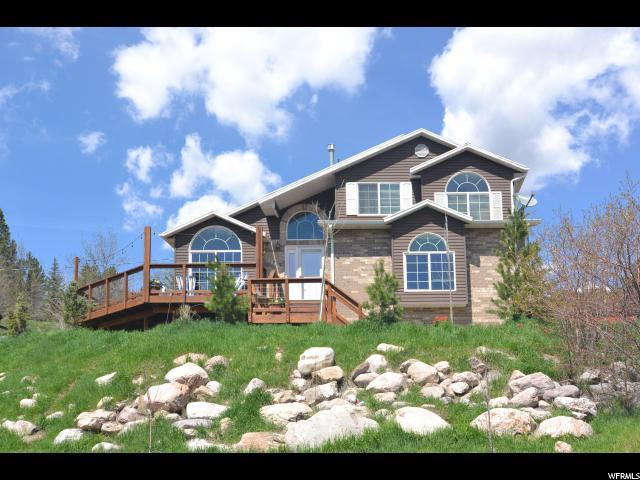 5880 N Wasatch Dr W, Mountain Green, UT 84050 (#1596297) :: Action Team Realty