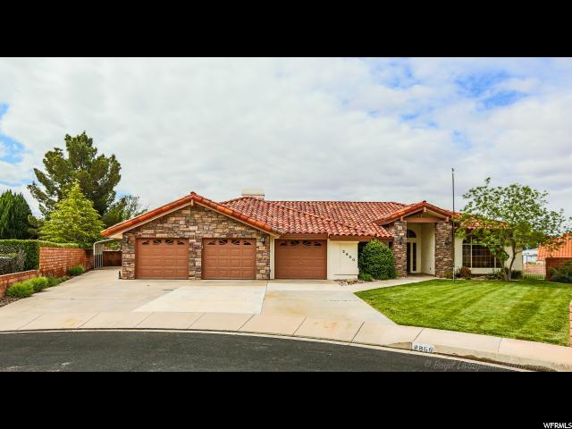2860 Rancho Cir, St. George, UT 84790 (#1597656) :: Action Team Realty