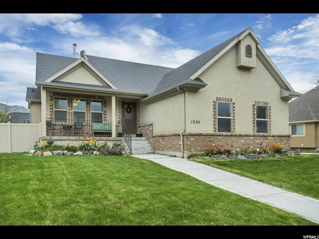 1255 S Lakeview Terrace Rd, Saratoga Springs, UT 84045 (#1597732) :: goBE Realty