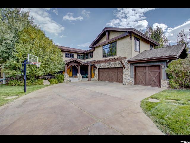 1176 Cottonwood Ln, Park City, UT 84098 (MLS #1598497) :: High Country Properties