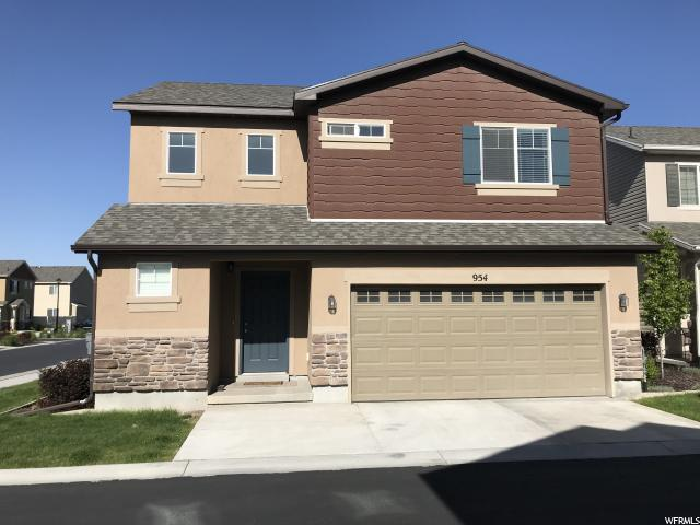 954 W Stonehaven Dr, North Salt Lake, UT 84054 (#1598733) :: Keller Williams Legacy