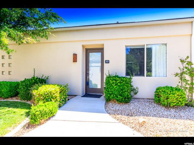 225 N Country Lane #109, St. George, UT 84770 (#1599350) :: RE/MAX Equity