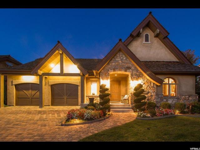 8293 S Bavarian Ct E, Cottonwood Heights, UT 84093 (#1600131) :: goBE Realty