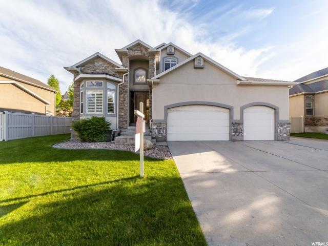 1197 W Saddle Bluff Dr S, Murray, UT 84123 (#1600327) :: goBE Realty