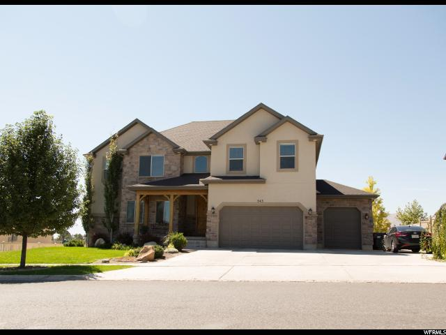 543 W Aspen Hills Blvd, Saratoga Springs, UT 84045 (#1601117) :: RE/MAX Equity