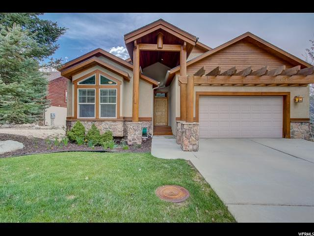 12607 N Deer Mountain Blvd, Heber City, UT 84032 (MLS #1601431) :: High Country Properties