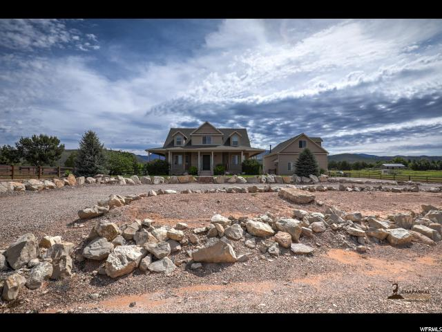 1424 N Canyon Trails Dr, Dammeron Valley, UT 84783 (#1602073) :: RE/MAX Equity