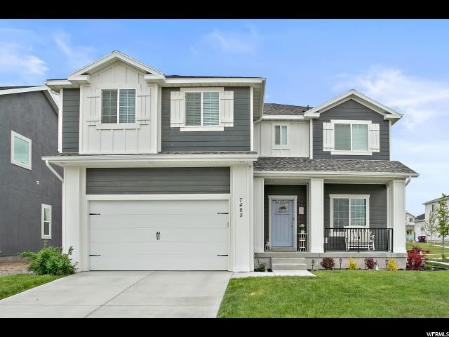 7465 N Silver Park Dr, Eagle Mountain, UT 84005 (#1602107) :: Von Perry | iPro Realty Network