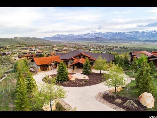 8156 N Ranch Club Trl, Park City, UT 84098 (MLS #1602310) :: High Country Properties