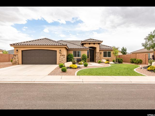 986 E 3800 S, Washington, UT 84780 (#1602457) :: goBE Realty