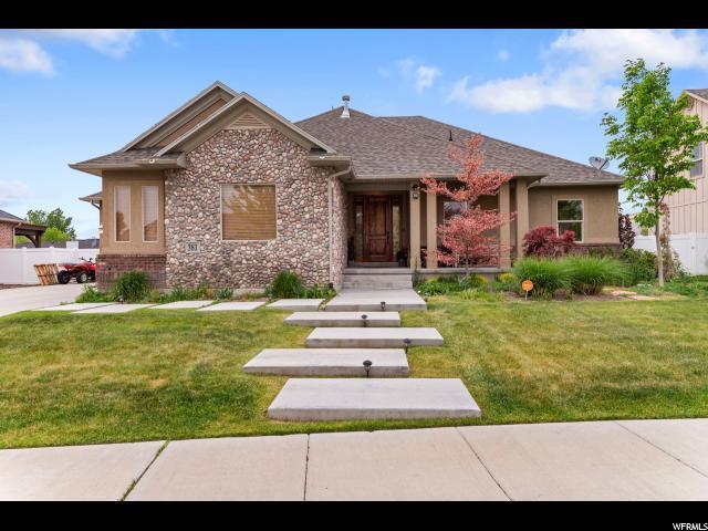 381 E Hedge Hollow Cv S, Draper, UT 84020 (#1602565) :: Big Key Real Estate