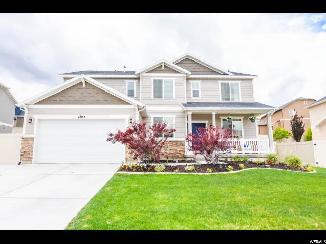 2863 S Fox Pointe Dr, Saratoga Springs, UT 84045 (#1602902) :: Red Sign Team