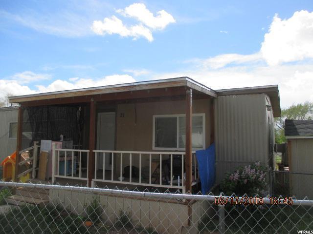 1700 N Main St E #21, Cedar City, UT 84721 (#1602943) :: Colemere Realty Associates