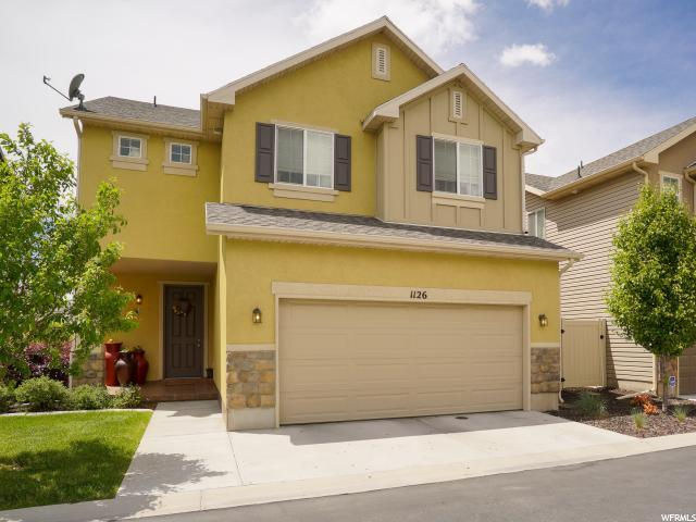 1126 W Stonehaven Dr N, North Salt Lake, UT 84054 (#1603158) :: Keller Williams Legacy