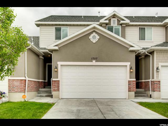 1757 W Hollow Cedar Ln, Riverton, UT 84065 (#1603197) :: RE/MAX Equity